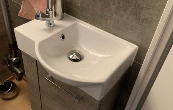 Einbau WC auf kleinstem Raum