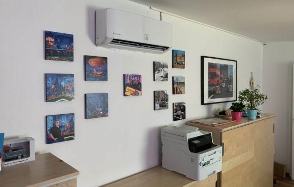 Installation Klimaanlage Bürogebäude